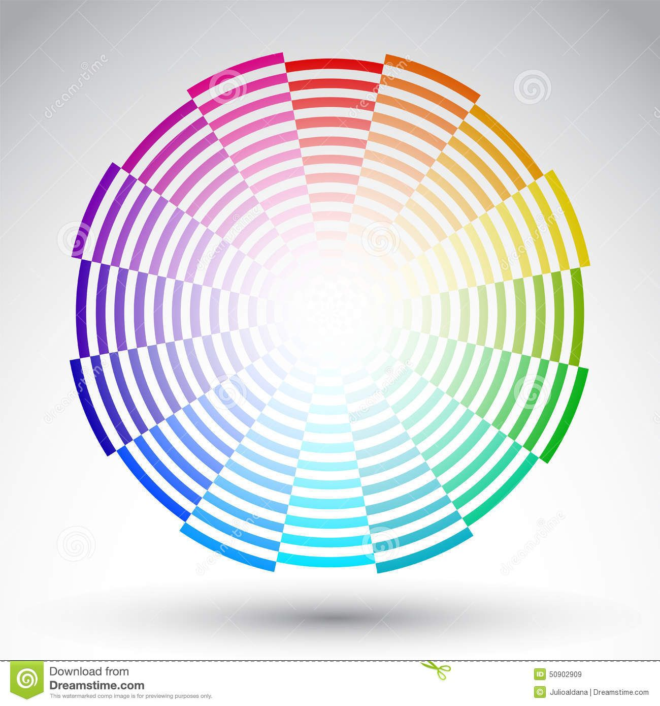Color Wheel Circle Designs Projects Chromatic Circle Color