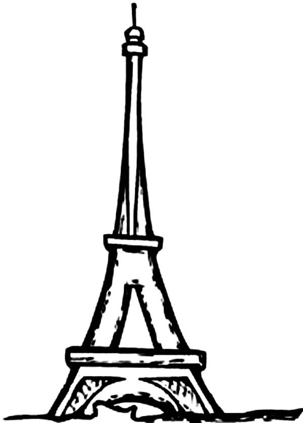 Best Printable Eiffel Tower Coloring Pages - http ...