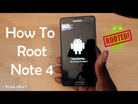 Buzzy Tricks: Easily Root Galaxy Note 4 Marshmallow Using Odin & CF