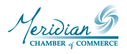 The Meridian Chamber of Commerce is a great place to look for community activities.