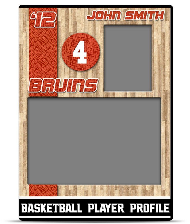 Soccer Player Cards Template Best Of Basketball Player Profile Template Player Card Soccer Cards Soccer Players