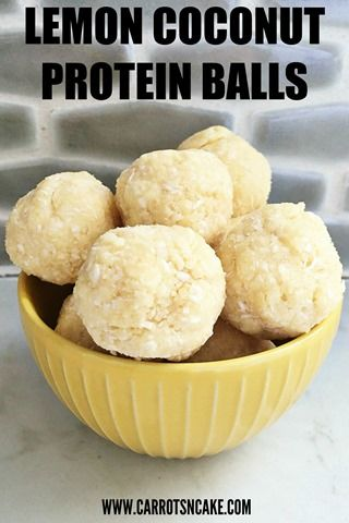 Easy Lemon Coconut Protein Balls Recipe Recipe Protein Balls Recipes Healthy Protein Snacks Protein Snacks