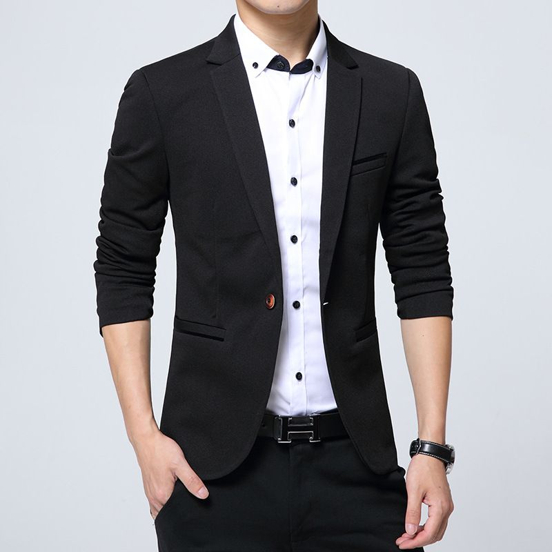 Click To Buy New Summer Style Luxury Business Casual Suit Men