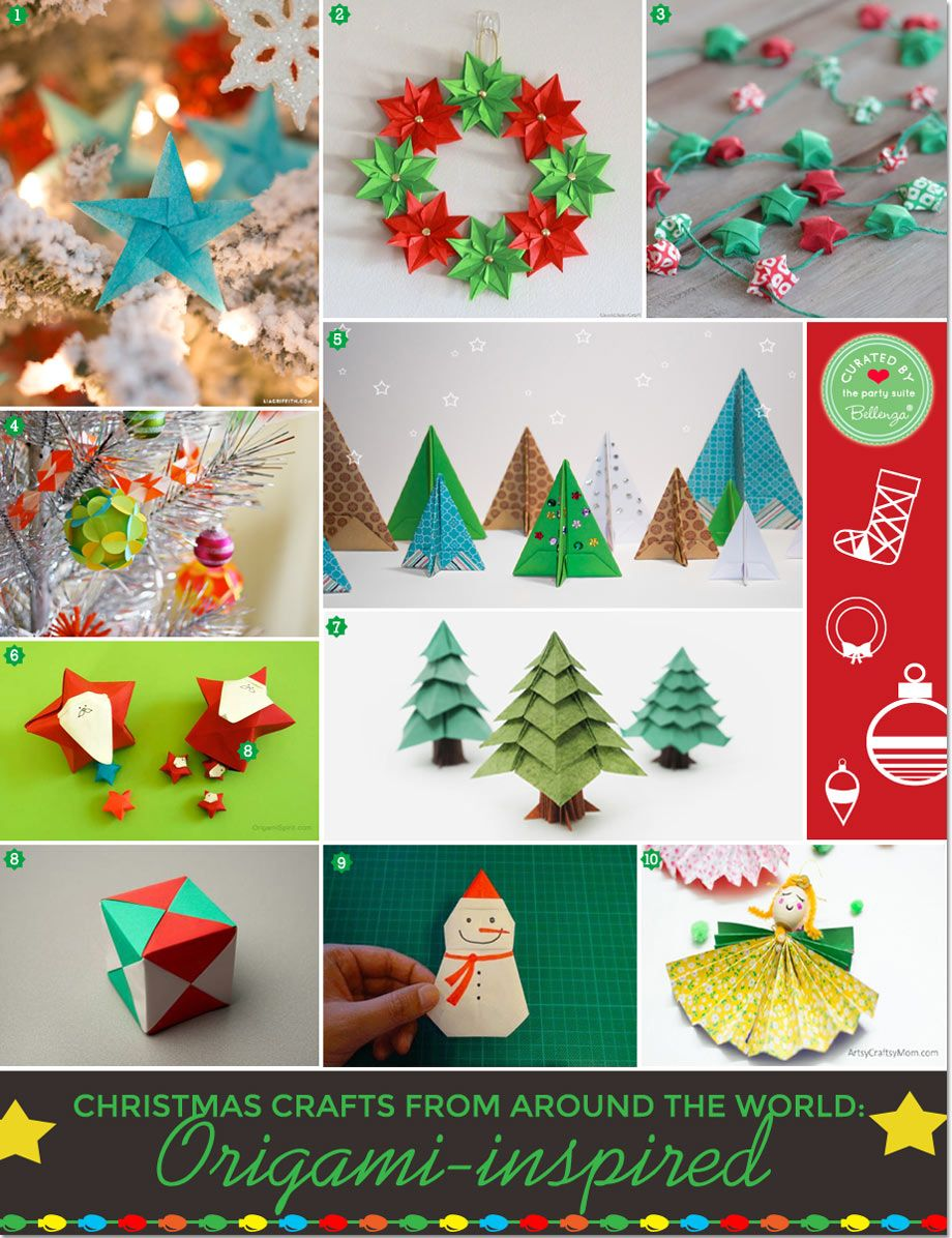 Origami Diy Christmas Decorations Winter Decorations Diy Christmas Paper Crafts Christmas Decor Diy