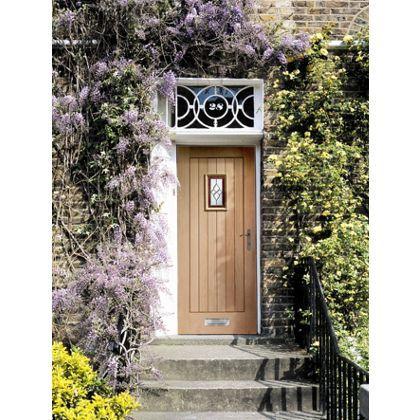 External Oak Triple Glazed Chancery Door - 762mm Wide at Homebase ...
