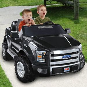 Power Wheels Kids Ford F150 Truck Ride On Toy Toy Cars For Kids