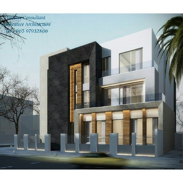 Private residence concept designed by inverse architecture for Residential architecture firms
