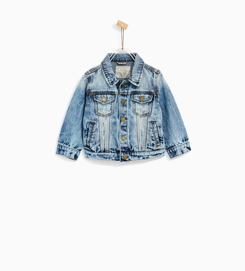 Ripped Denim Jacket New In Baby Boy 3 Months 4 Years Kids Zara Hungary Baby Shower Outfit For Guest Baby Boy Fall Outfits Baby Boy Jackets [ 1132 x 1024 Pixel ]
