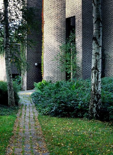 St. Mark's Church, Stockholm, Sweden  by Sigurd Lewerentz in 1956-63