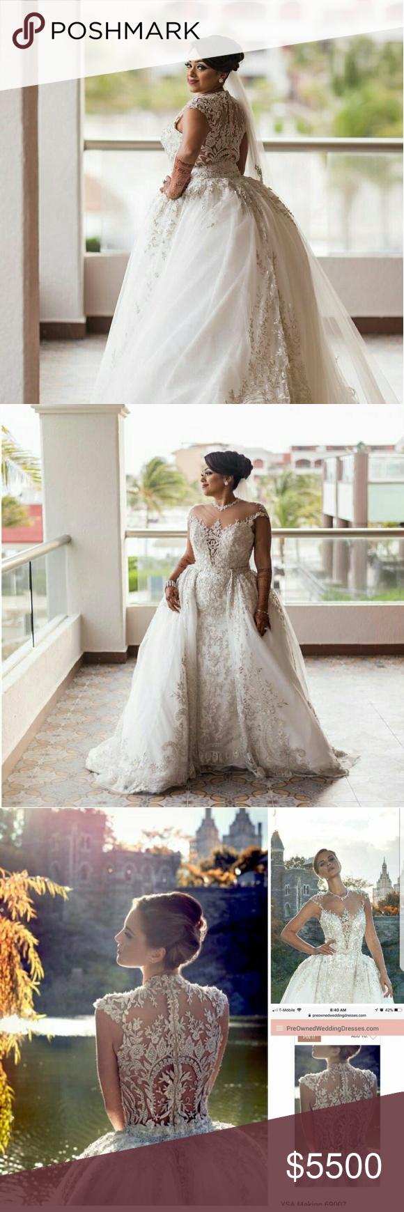 Wedding dress Ysa makino 69007. Beautiful bridal gown