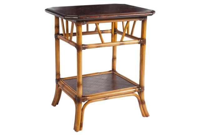 """Abbe Side Table, Espresso $299 EA 24.75W X 20.75D X 28H  WOW JUST OFF BY .75"""""""