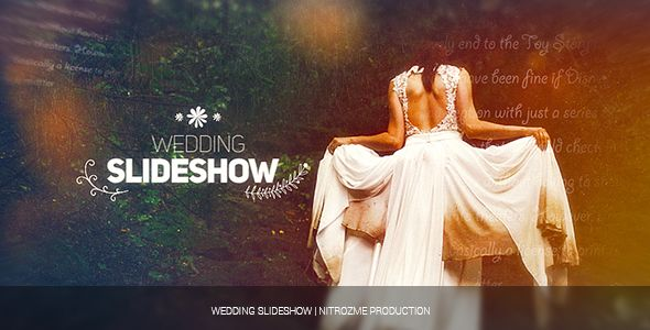 Wedding Slideshow | After effects, Template and See it