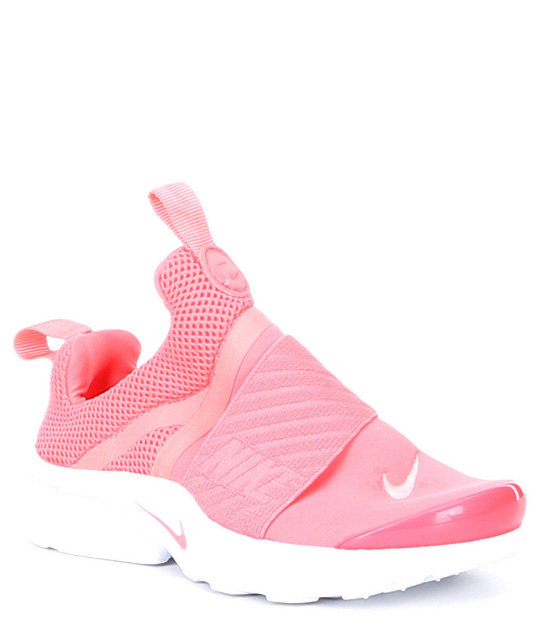 Nike Girls' Presto Extreme TD Slip On Sneakers Pink Gaze