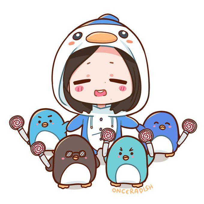 Twice Mina Anime Chibi Urin