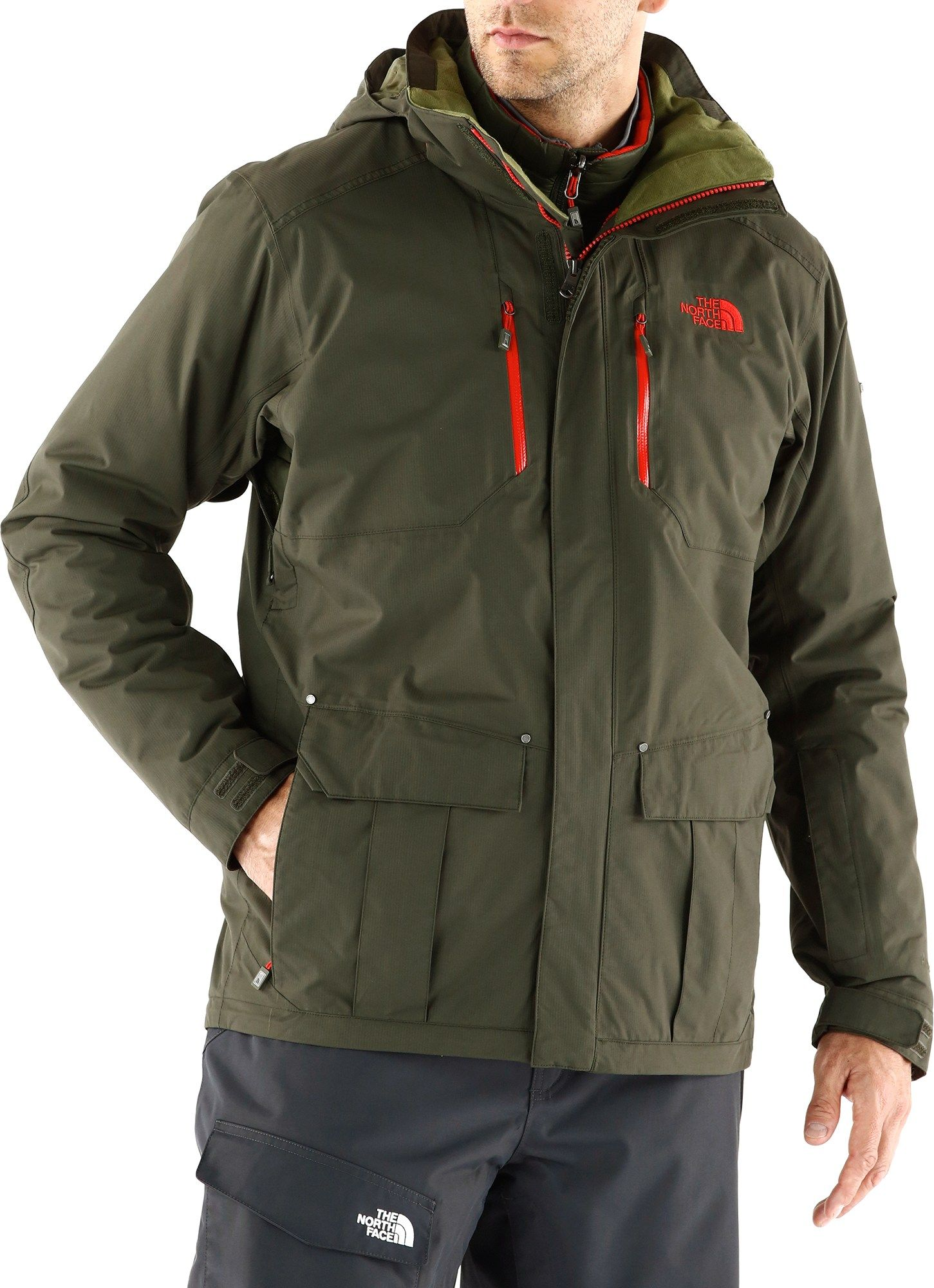 The North Face Male Thermoball Snow Triclimate 3-In-1 Jacket - Men s ... d1cba3098