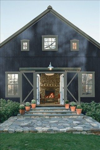 Look At The Paint Color Combination I Created With Benjamin Moore Via Siding Polo Blue 2062 10 Trim Millstone Gray 1581