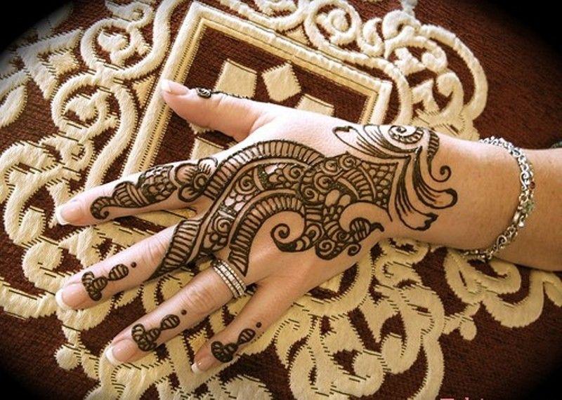 Henna Mehndi Nail Art : Full arm henna mehndi designs simple and cute design tattoo