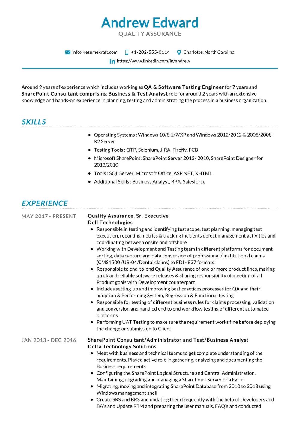 100 Professional Resume Samples For 2020 Resumekraft Resume Examples Sample Resume Resume