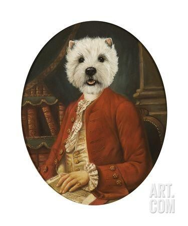The Courtisan Premium Giclee Print By Thierry Poncelet At Art Com Mit Bildern Hunde