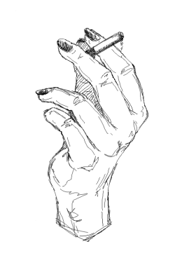 Cigarette box drawing tumblr