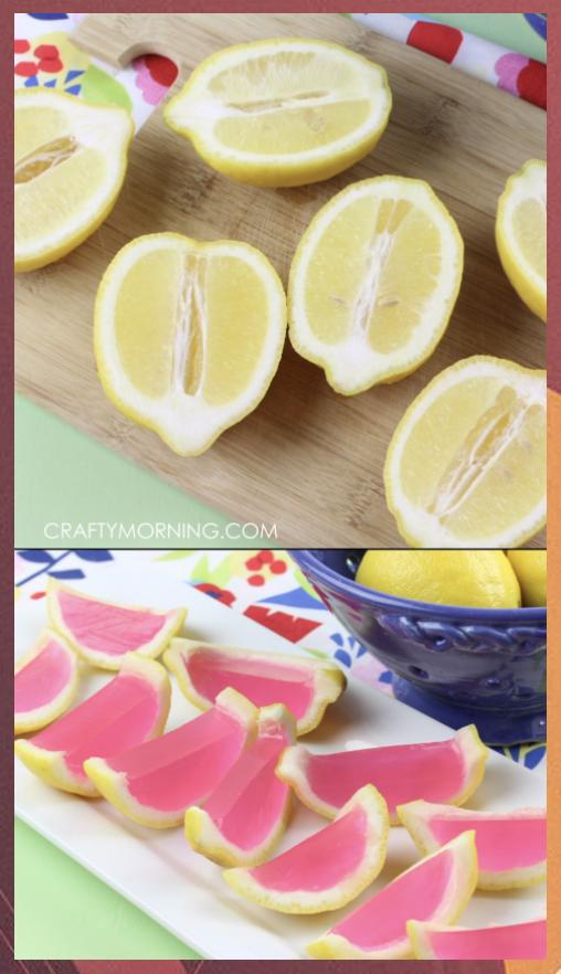 pink lemonade #pinklemonade Pink Lemonade Jello Shots #Jello #Lemonade #Pink #Shots