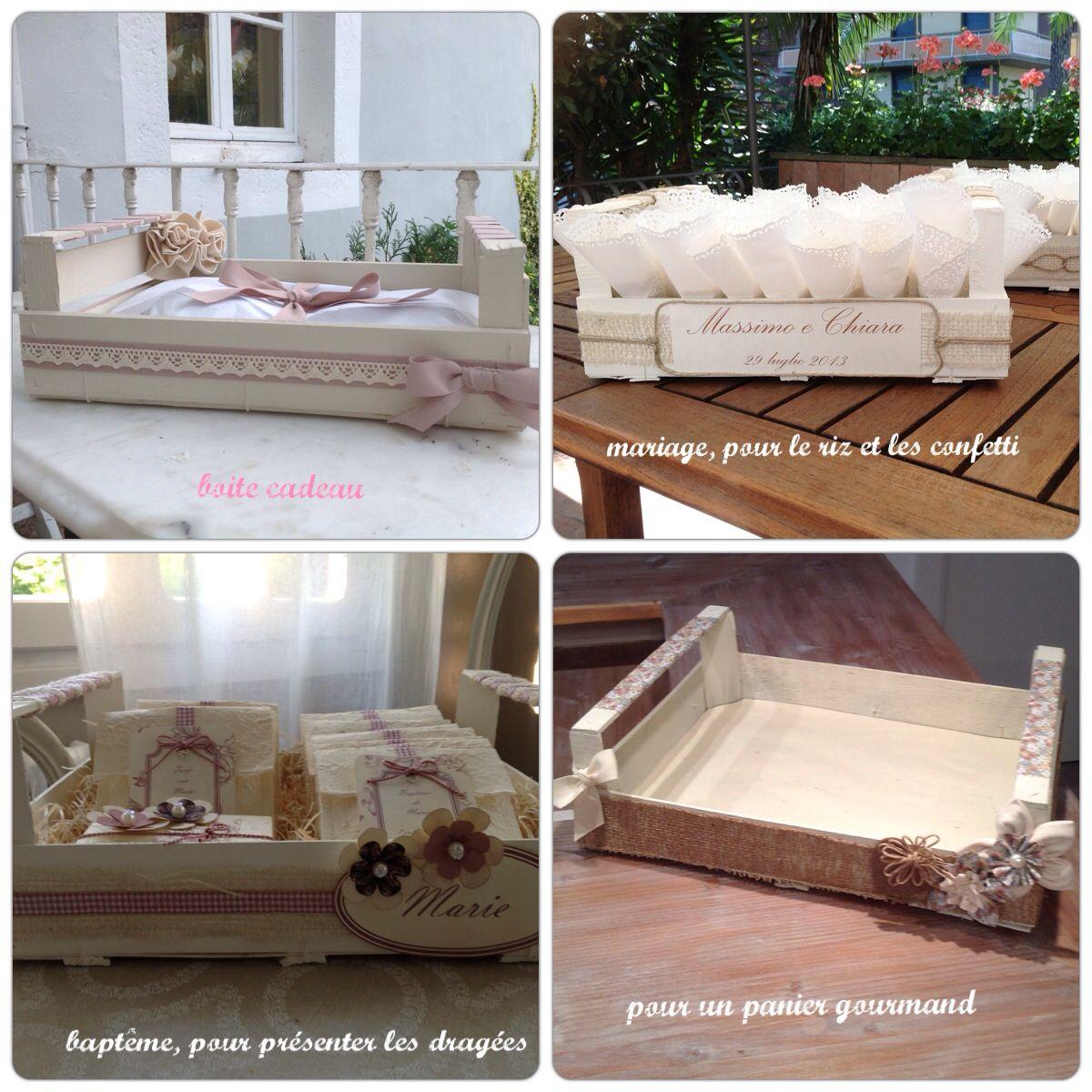d co cagette cagettes de cl mentines pinterest cagette caisse et d co fa ade ext rieure. Black Bedroom Furniture Sets. Home Design Ideas