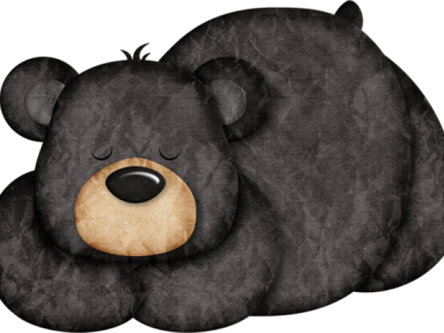 Black Bear Clipart Woodland Bear Png Download 640x480 Png Download Detskie Risunki Detskie Raskraski Kartiny Zhivotnyh