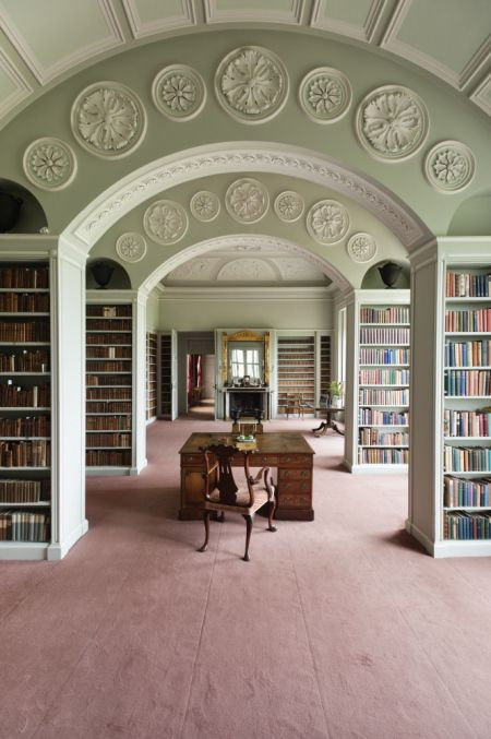 Wimpole Hall The Book Room NTPL 691856