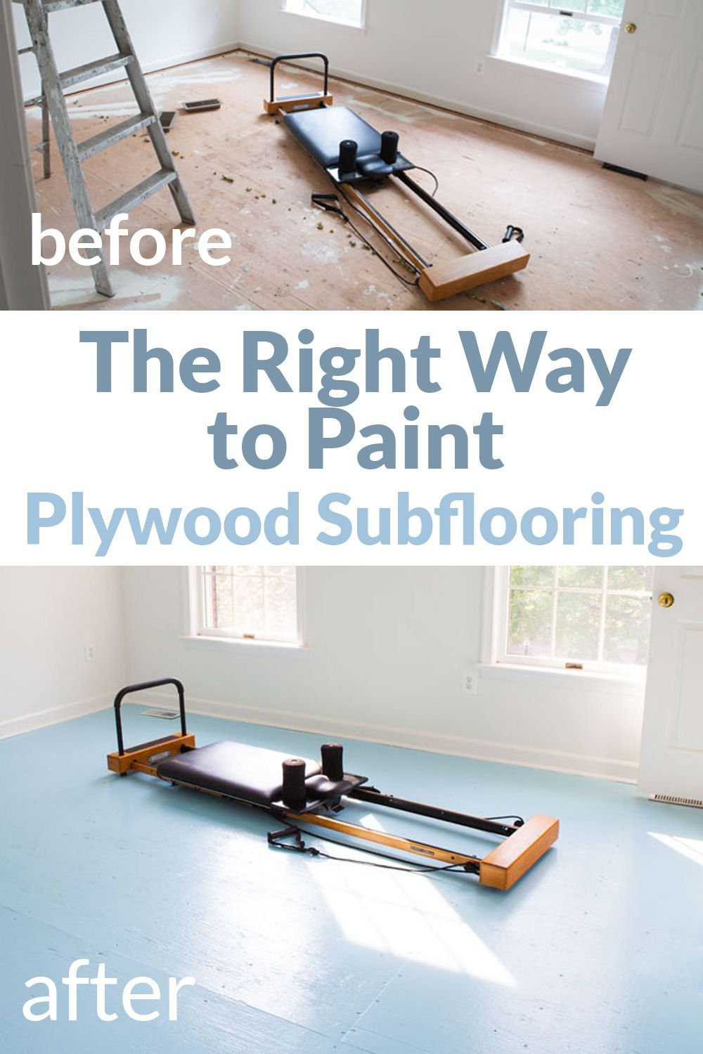How To Paint Plywood Subfloor In 2020 Plywood Subfloor Plywood Flooring Painted Plywood Floors