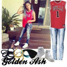 Sporty look . Golden Ash