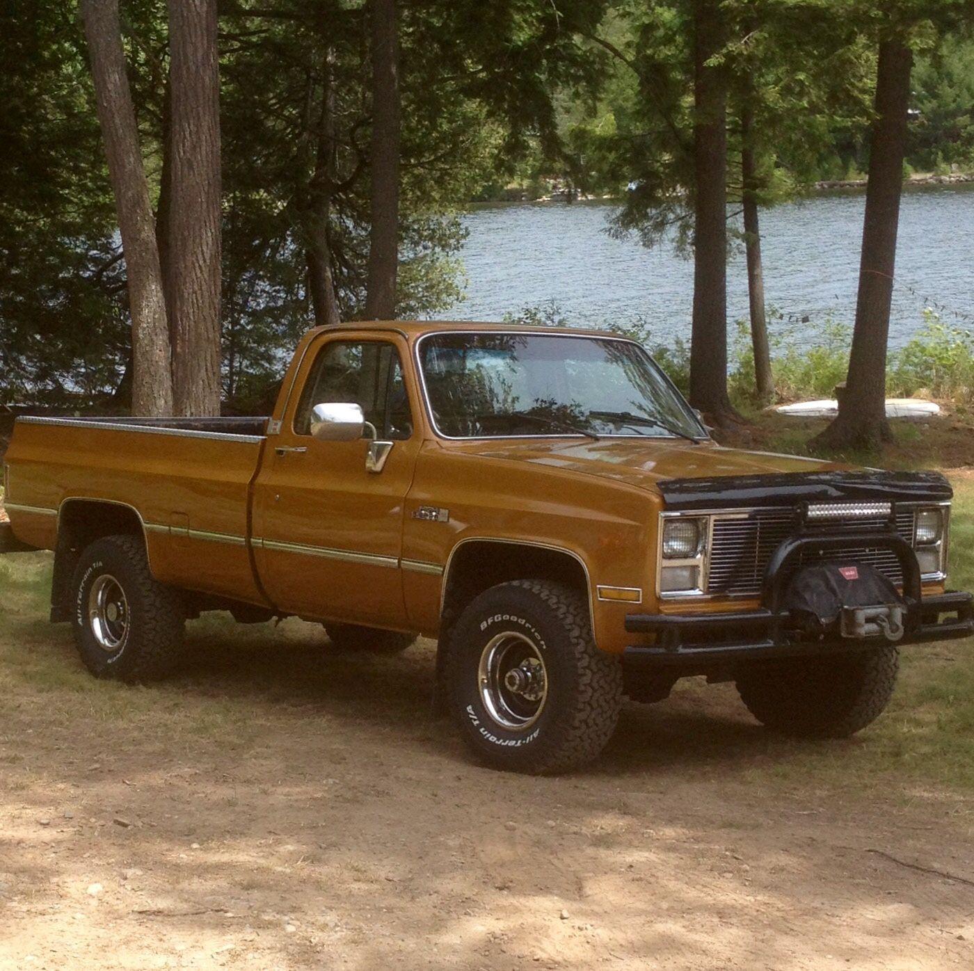 Chevy 4x4 truck
