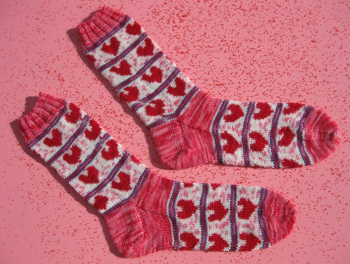 Pre-order Valentine Heart self patterning sock yarn kit. $60.00, via ...