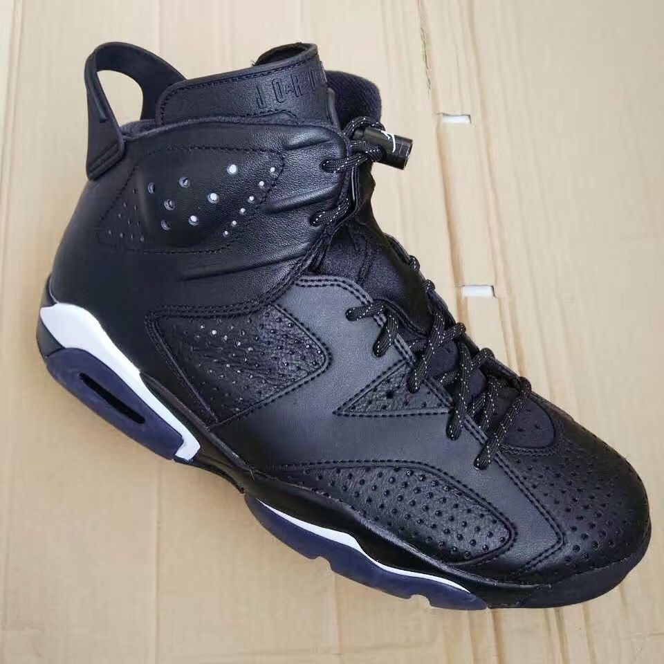 Air Jordan 6 Black Cat • KicksOnFire.com