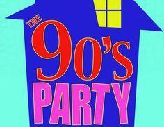SsPartyThemejpg S Themed Party Pinterest - 90s birthday invitation templates