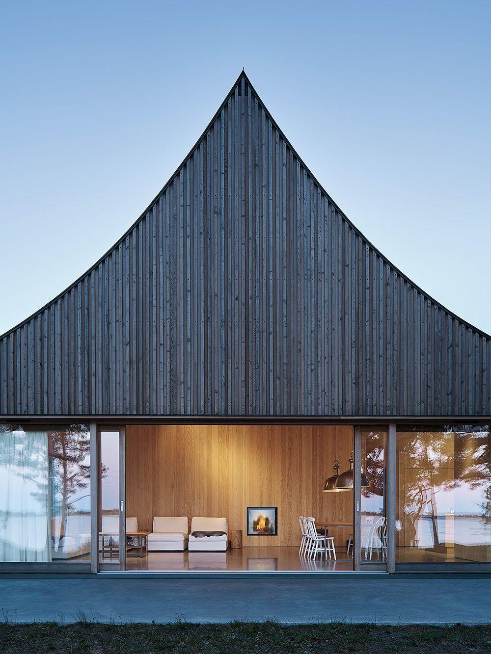Modern Gazebo Atmosphere On Krokholmen Island Design Stories Scandinavian Architecture Architecture Modern Gazebo