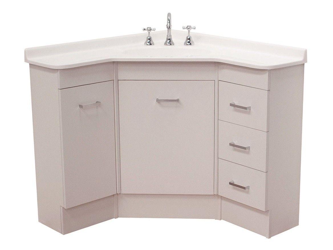 Lovely Bathroom Cabinet Corner Unit Corner Bathroom Vanity