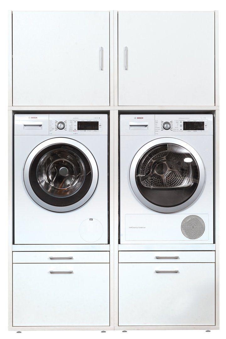 Waschturm Komplett Selbst Zusammenstellen Hauswirtschaftsraum Wasche Und Waschkuche