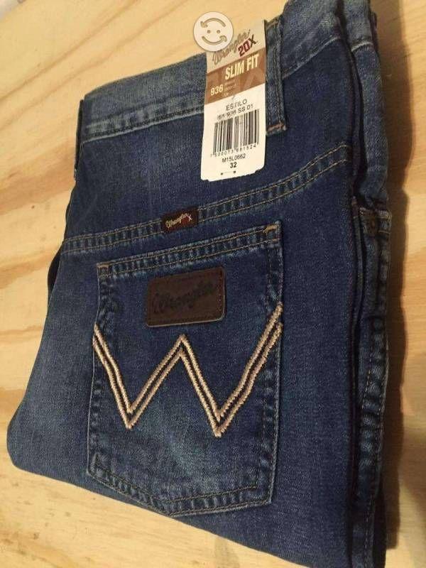 Jeans caballero wrangler   Segundamano.mx