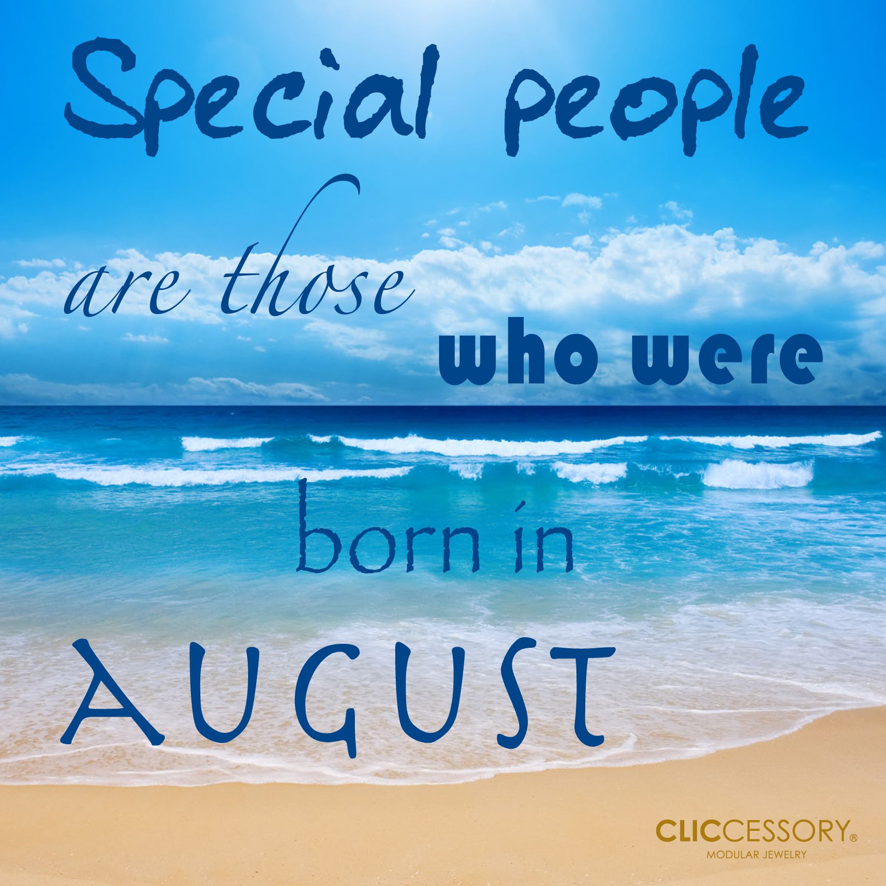 Special People Are Those Who Were Born In August. #visualstatement #quote # August
