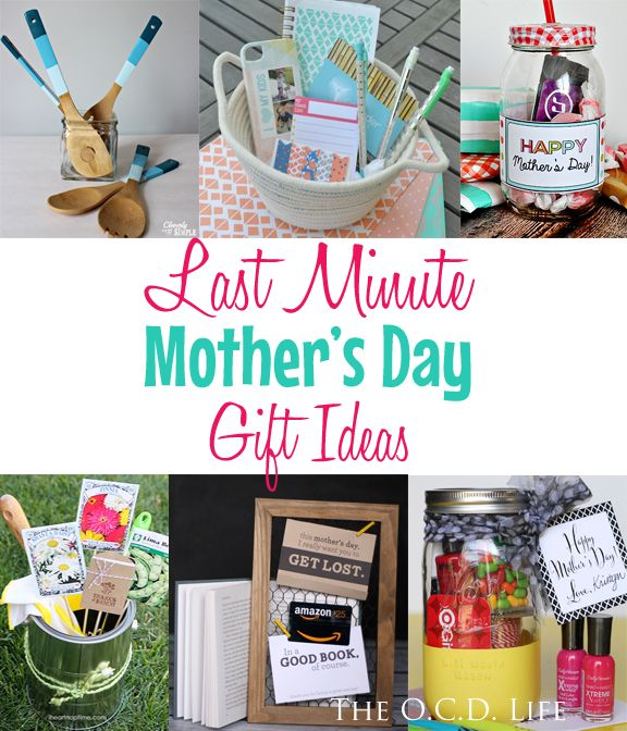 Last Minute Mother S Day Gift Ideas Personalized Mother S Day