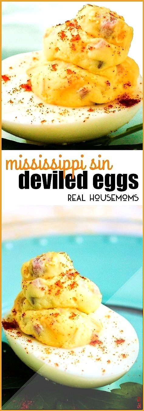 Deviled These Mississippi Sin Deviled Eggs take two southern classics and turn them into one amazin