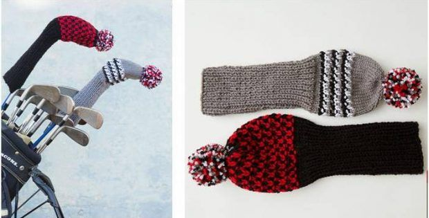 Dandy Knitted Golf Headcovers [FREE Knitting Pattern ...