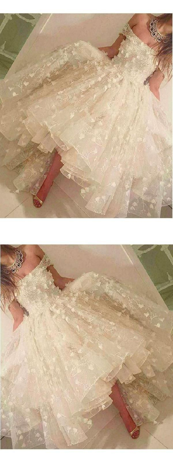 High low prom dresses highlowpromdresses prom dresses white