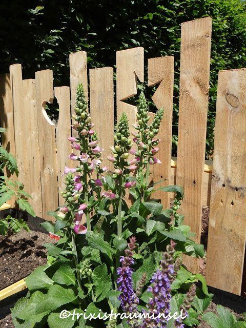 Neues Holz Diy Im Garten Balkon Und Garten Garden Fence Und