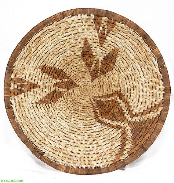 Hey, I found this really awesome Etsy listing at https://www.etsy.com/listing/128626995/botswana-basket-bowl-shaped-bayei-or