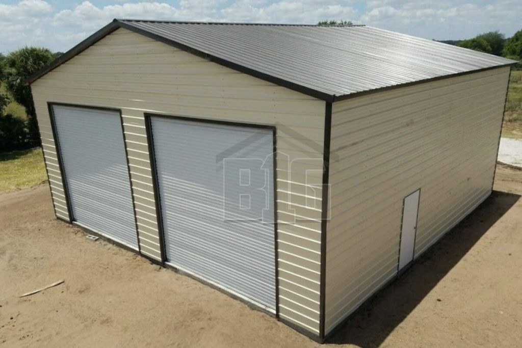 The Wilson 30x30x13 Garage Door Styles Garage Door Design Metal Building Homes