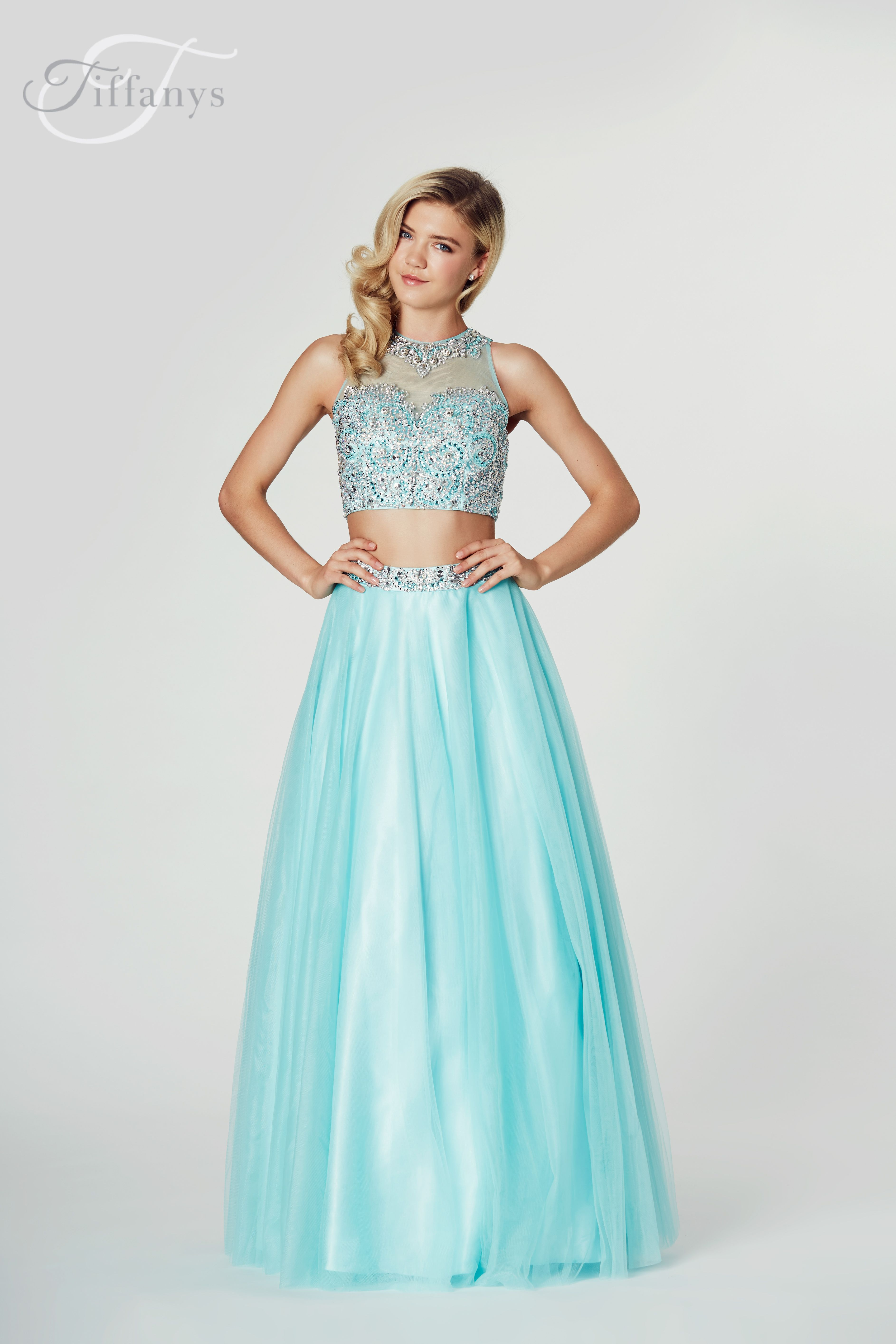 TIFFANYSPROM #PROM #MACEY Tiffanys - Macey. Available in Aqua, Royal ...