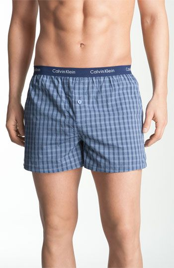ee99f3df19 Men's Calvin Klein 'Matrix' Slim Fit Woven Boxers | Men's in 2019 ...