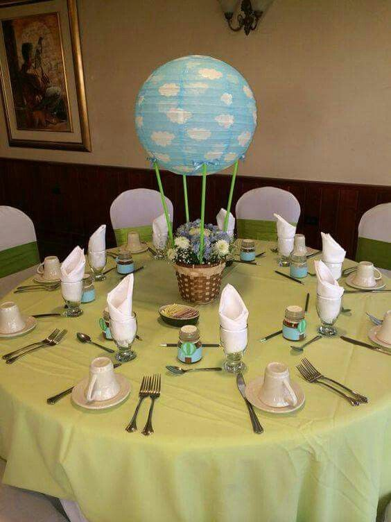 Globo caliente Party in the air Pinterest Babies, Babyshower