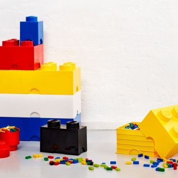 ... based on the imaginative world of The LEGO group to fill everyday life  with fun. The LEGO Storage Brick system consists of oversized LEGO bricks,  ...